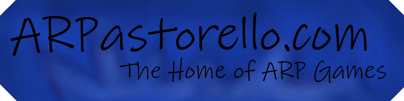 Welcome to ARPastorello.com The home of ARP games